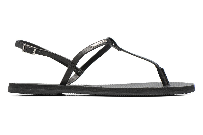 Sandales et nu-pieds Havaianas You Riviera Noir vue derrière