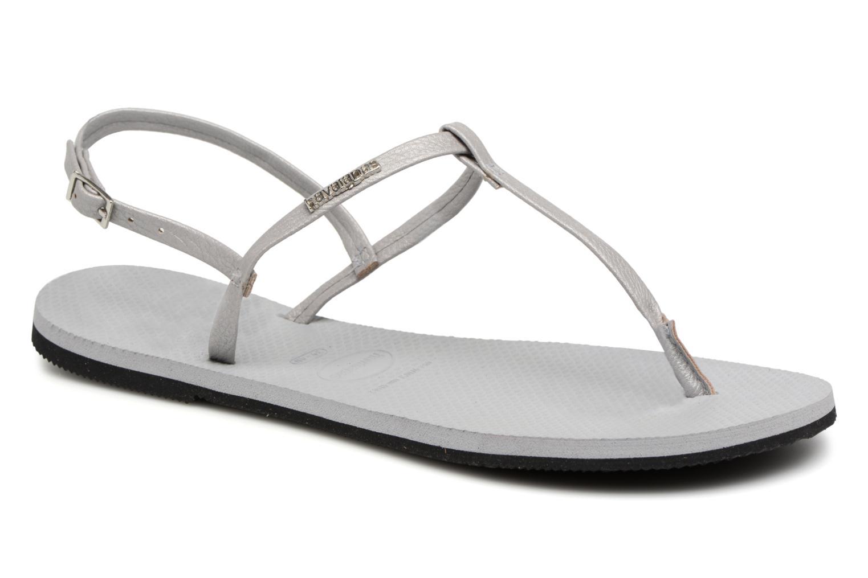 Sandales et nu-pieds Havaianas You Riviera Gris vue détail/paire