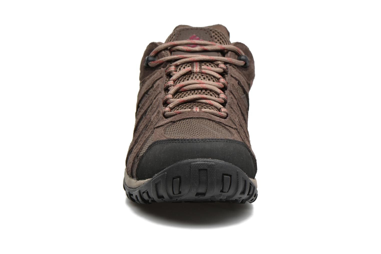 Chaussures de sport Columbia Redmond Waterproof2 Marron vue portées chaussures