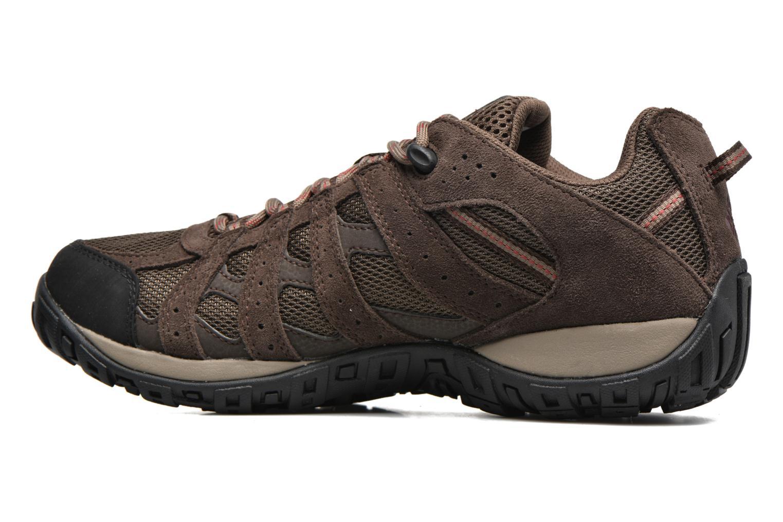 Chaussures de sport Columbia Redmond Waterproof2 Marron vue face
