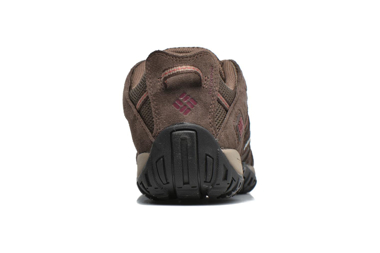 Chaussures de sport Columbia Redmond Waterproof2 Marron vue droite