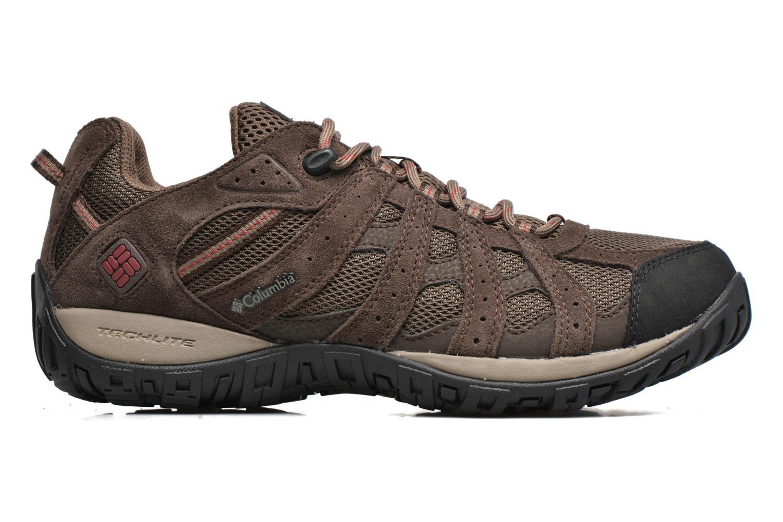 Chaussures de sport Columbia Redmond Waterproof2 Marron vue derrière