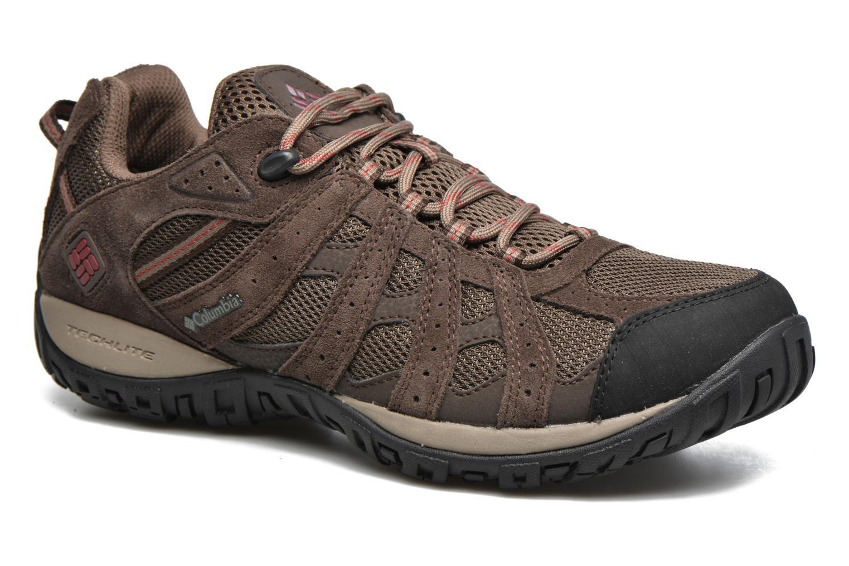 Chaussures de sport Columbia Redmond Waterproof2 Marron vue détail/paire