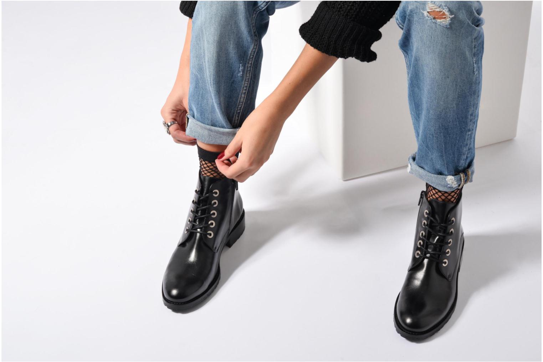 Bottines et boots Georgia Rose Talacet Noir vue bas / vue portée sac