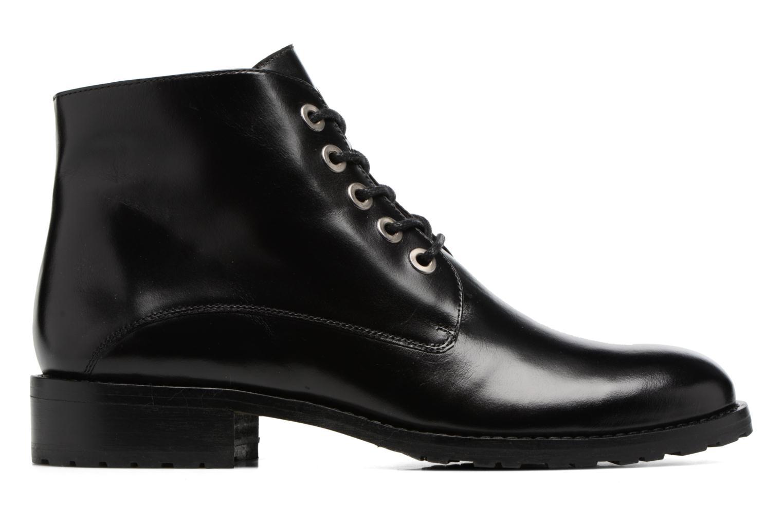 Bottines et boots Georgia Rose Talacet Noir vue derrière