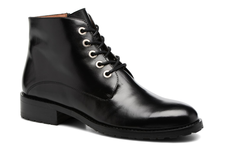 Bottines et boots Georgia Rose Talacet Noir vue détail/paire