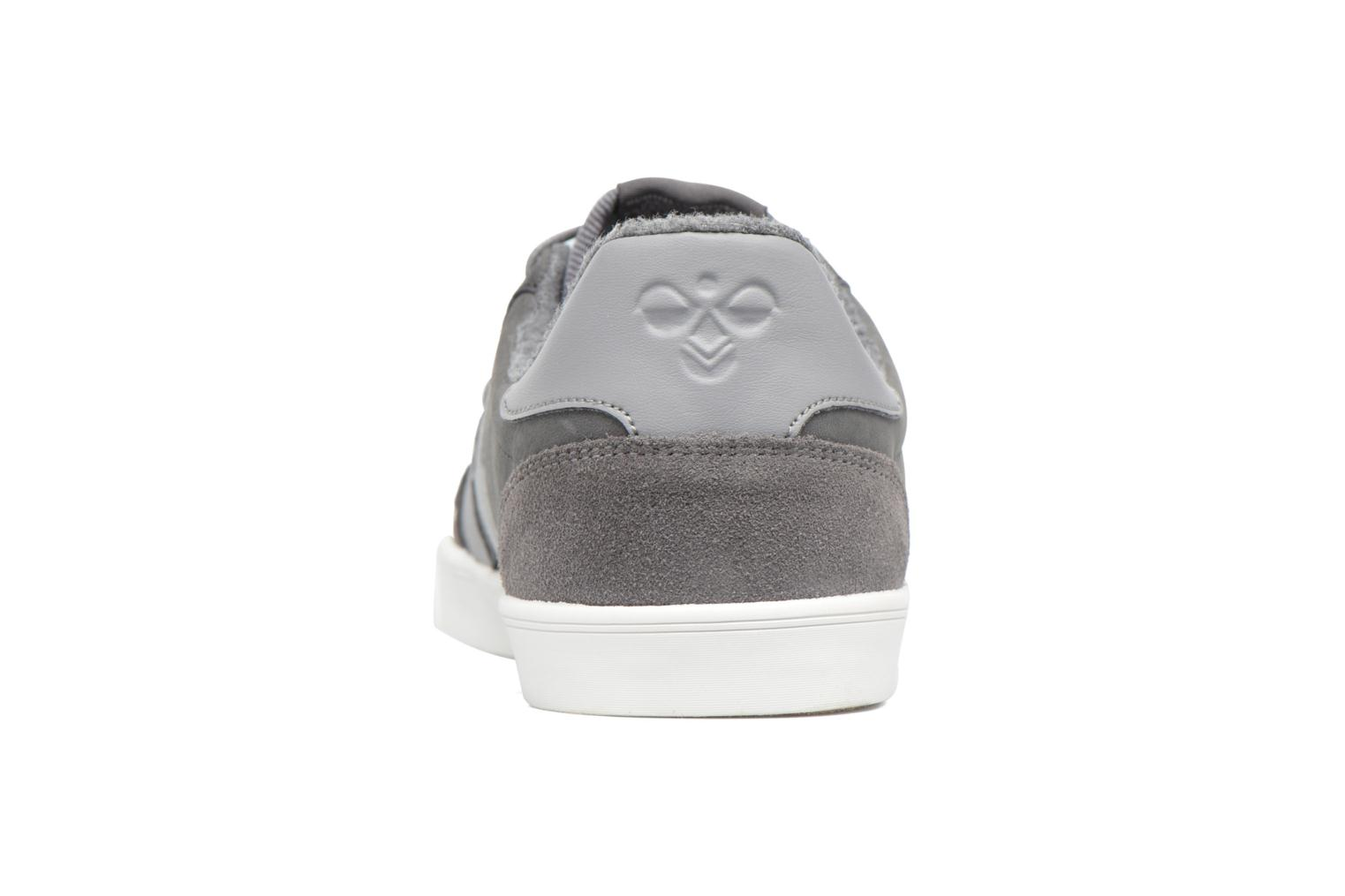 Baskets Hummel Slimmer Stadil Duo Oiled Low Gris vue droite