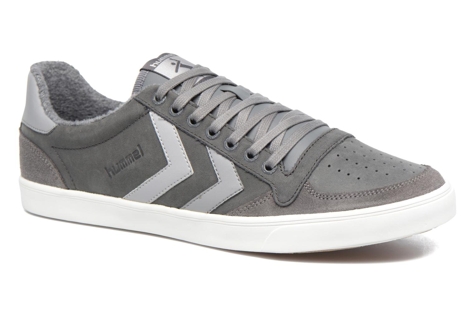 Baskets Hummel Slimmer Stadil Duo Oiled Low Gris vue détail/paire