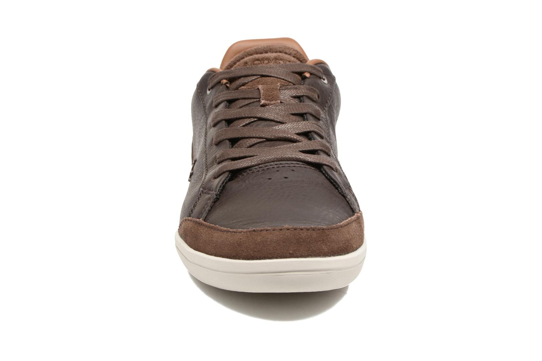 Baskets Lacoste SET-MINIMAL 317 1 Marron vue portées chaussures