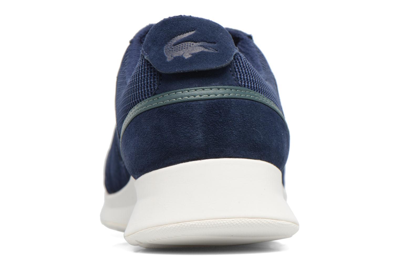 Baskets Lacoste JOGGEUR 317 4 Bleu vue droite