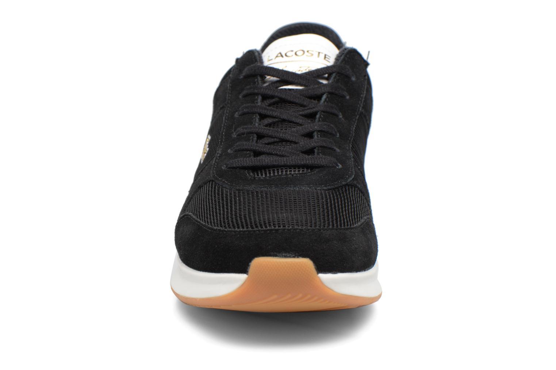Baskets Lacoste JOGGEUR 317 2 Noir vue portées chaussures