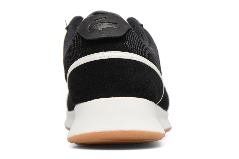 Baskets Lacoste JOGGEUR 317 2 Noir vue droite