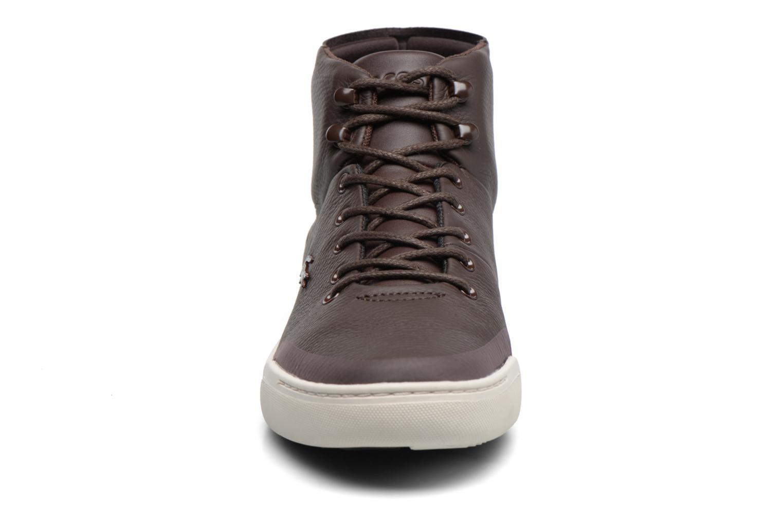 Baskets Lacoste EXPLORATEUR CLASSIC 317 1 Marron vue portées chaussures