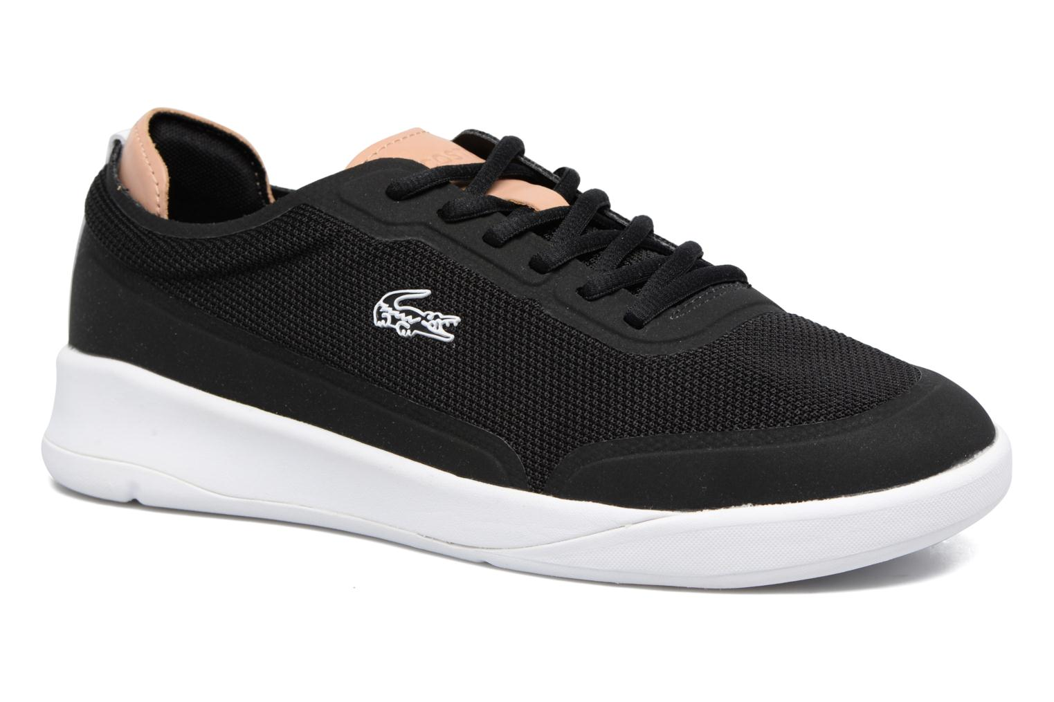 Trainers Lacoste LT SPIRIT ELITE 317 1 Black detailed view/ Pair view