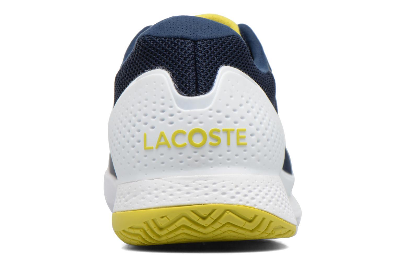 Chaussures de sport Lacoste LT PRO 317 1 Bleu vue droite