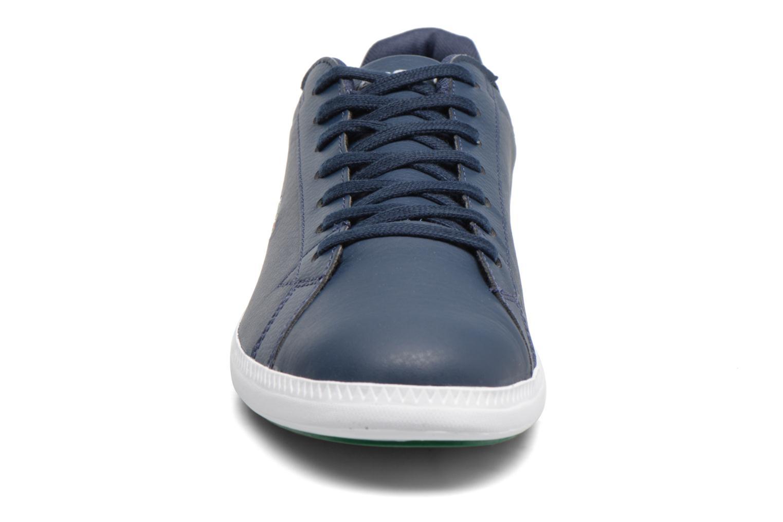Baskets Lacoste GRADUATE LCR3 SPM Bleu vue portées chaussures