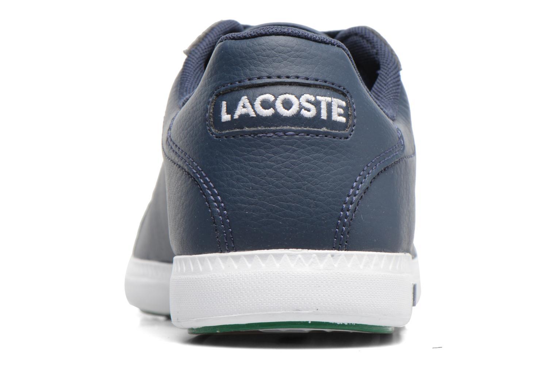 Baskets Lacoste GRADUATE LCR3 SPM Bleu vue droite
