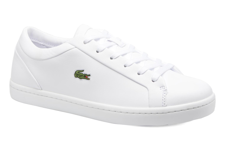 Zapatos de hombre y mujer de promoción por tiempo limitado Lacoste Straightset Lace 317 3 (Blanco) - Deportivas en Más cómodo