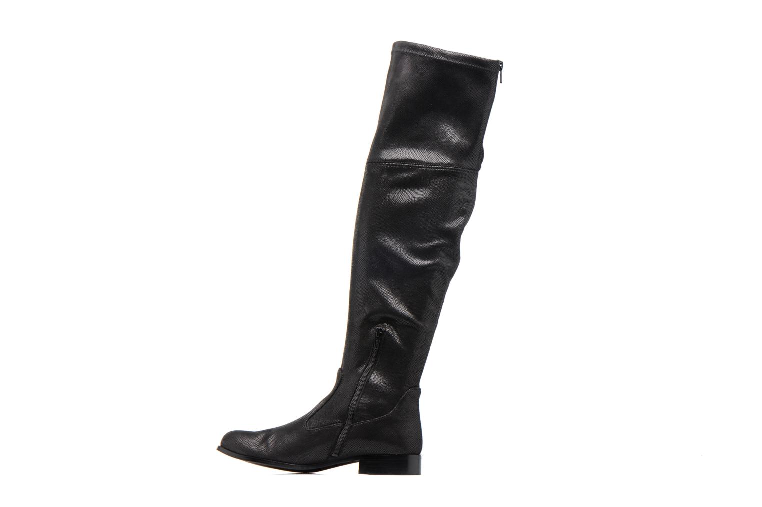 Boots & wellies Georgia Rose Serpentin Black front view