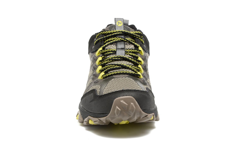Chaussures de sport Merrell Moab Fst Gtx Gris vue portées chaussures