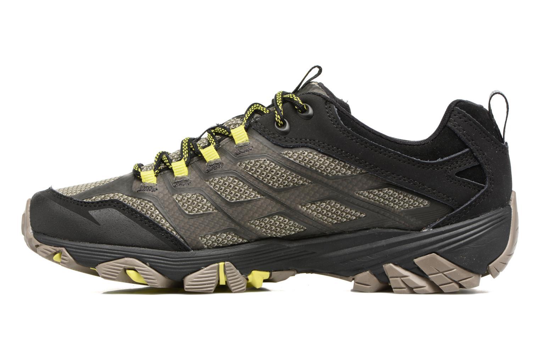 Chaussures de sport Merrell Moab Fst Gtx Gris vue face