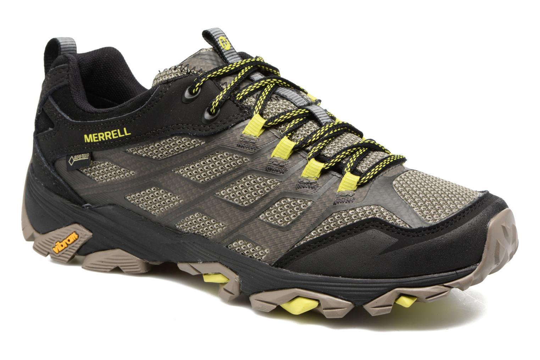 Chaussures de sport Merrell Moab Fst Gtx Gris vue détail/paire