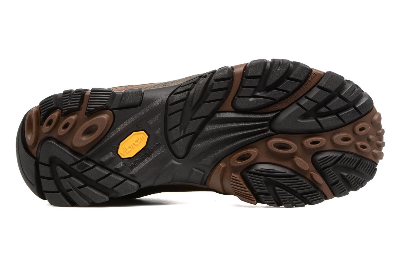 Chaussures de sport Merrell Moab Venture Lace Marron vue haut