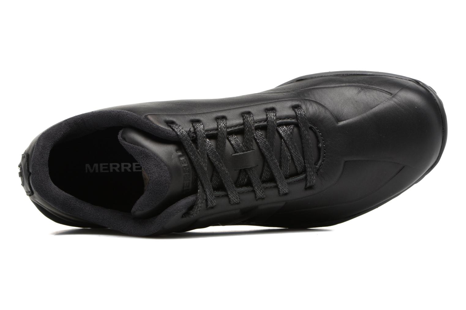 Baskets Merrell Sprint Lace Leather Ac+ Noir vue gauche