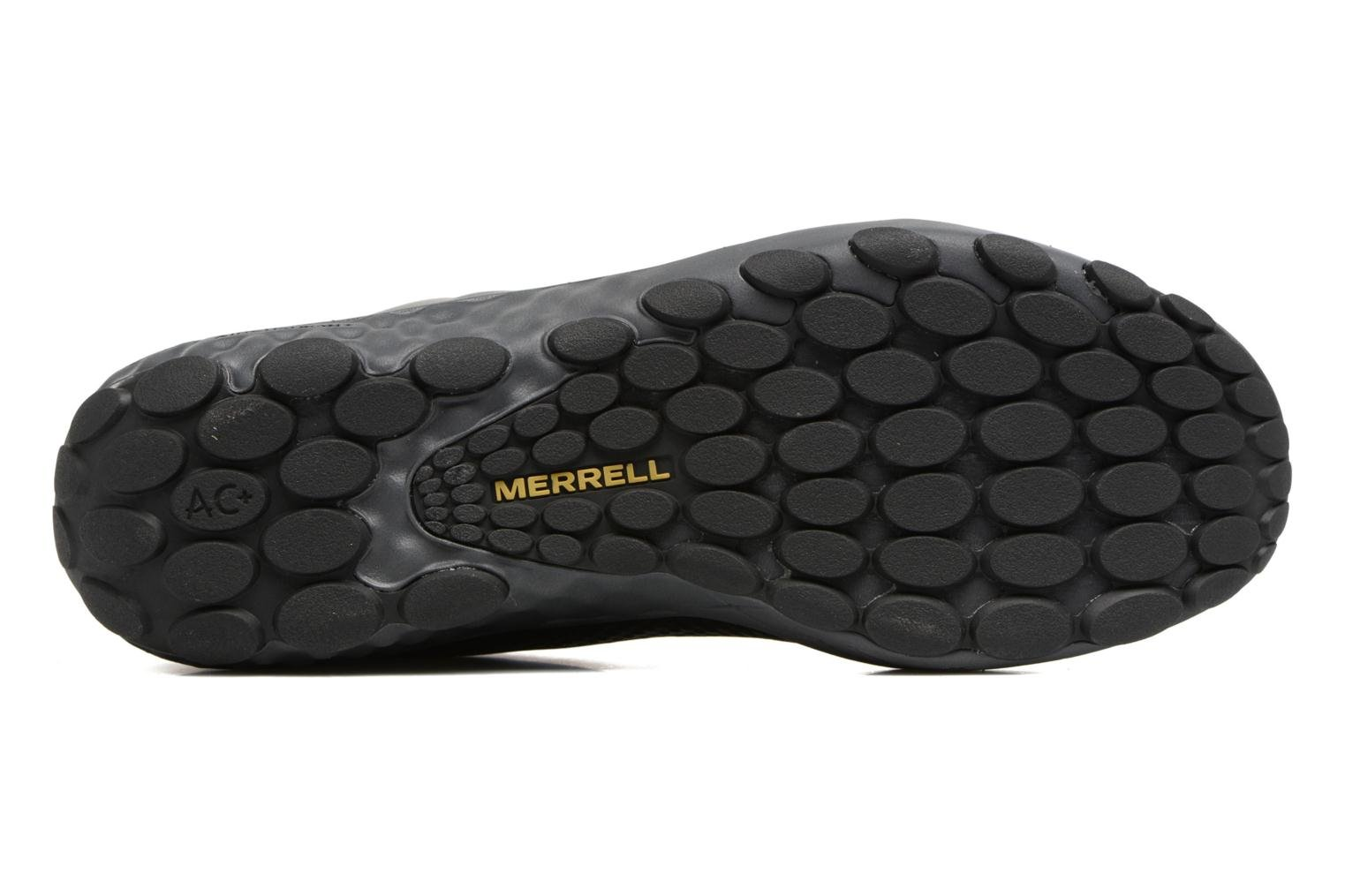 Baskets Merrell Sprint Lace Leather Ac+ Noir vue haut