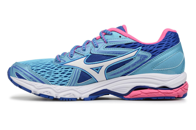Chaussures de sport Mizuno WAVE PRODIGY (W) Bleu vue face