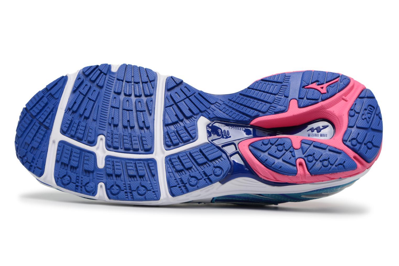 Chaussures de sport Mizuno WAVE PRODIGY (W) Bleu vue haut