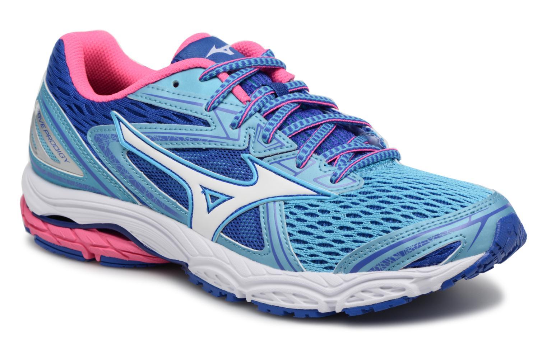 Chaussures de sport Mizuno WAVE PRODIGY (W) Bleu vue détail/paire