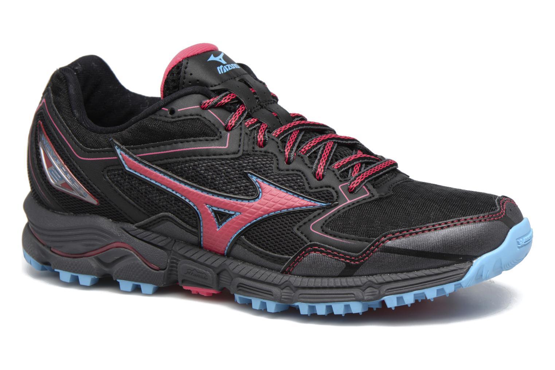 Chaussures de sport Mizuno WAVE DAICHI 2 (W) Noir vue détail/paire