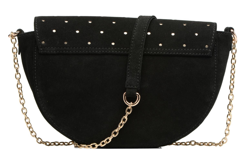 Handtassen Petite mendigote Crossbody Chaine Lune Amstrong Zwart voorkant