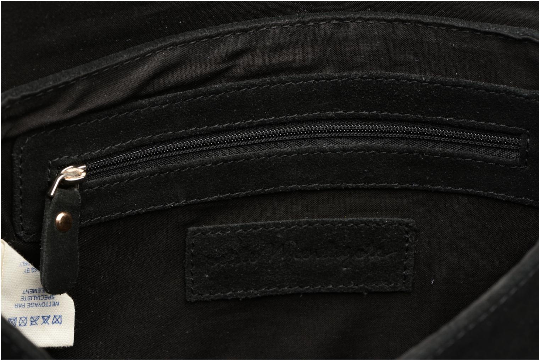 Handtassen Petite mendigote Crossbody Chaine Lune Amstrong Zwart achterkant