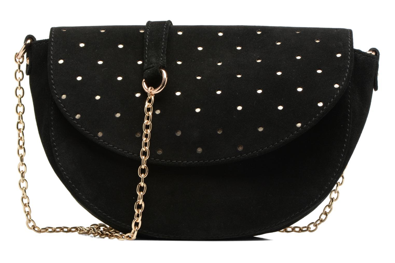 Handtassen Petite mendigote Crossbody Chaine Lune Amstrong Zwart detail