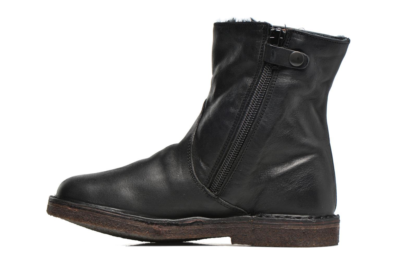 Bottines et boots PèPè Fabio Noir vue face