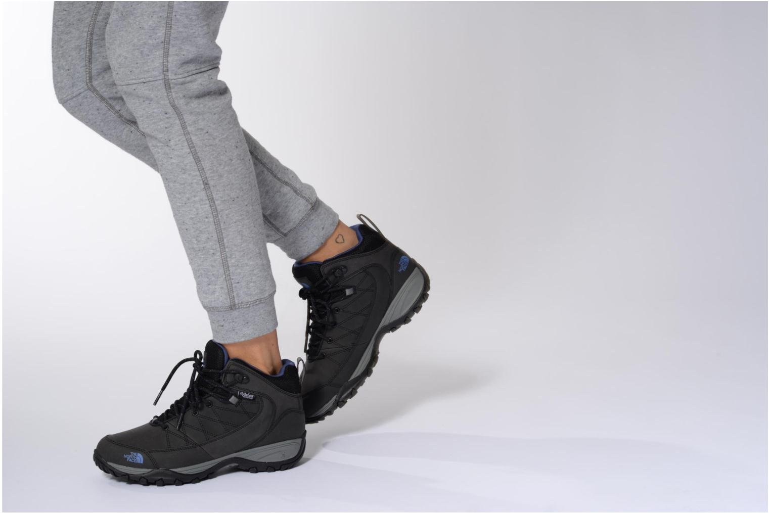 Sport shoes The North Face Storm Strike Wp Grey view from underneath / model view