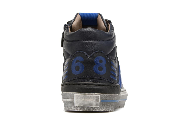 Baskets Romagnoli Benoit Bleu vue droite