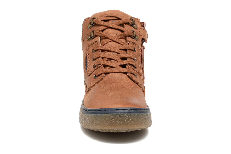 Baskets Romagnoli Baptiste Marron vue portées chaussures