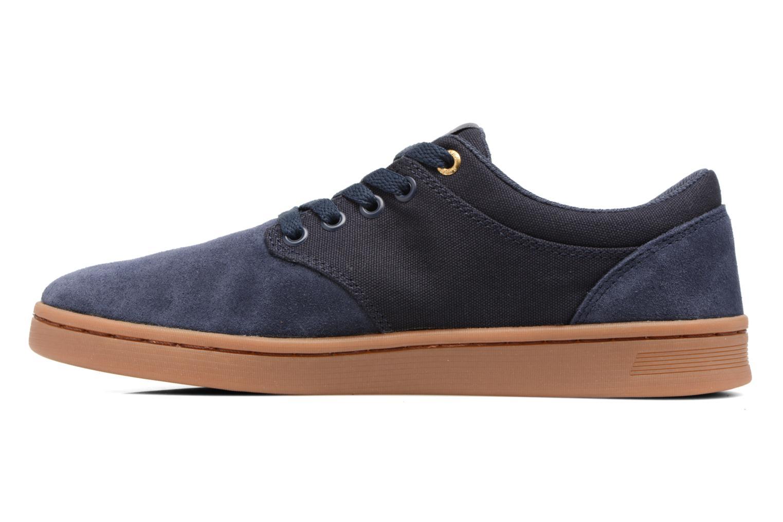 Chaussures de sport Supra Chino Court Bleu vue face