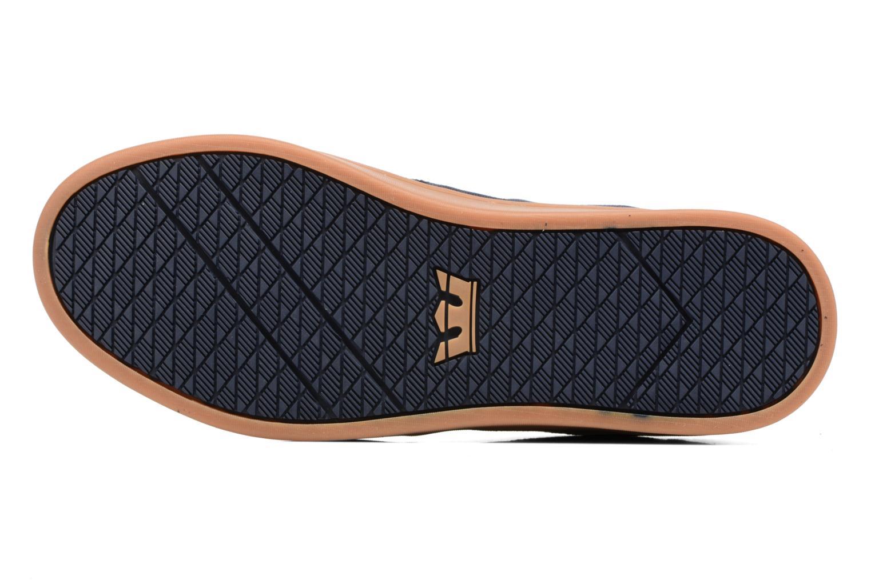 Chaussures de sport Supra Chino Court Bleu vue haut