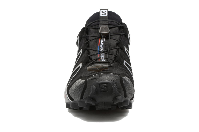 Chaussures de sport Salomon Speedcross 4 Gtx Noir vue portées chaussures