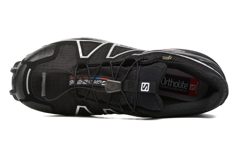 Chaussures de sport Salomon Speedcross 4 Gtx Noir vue gauche