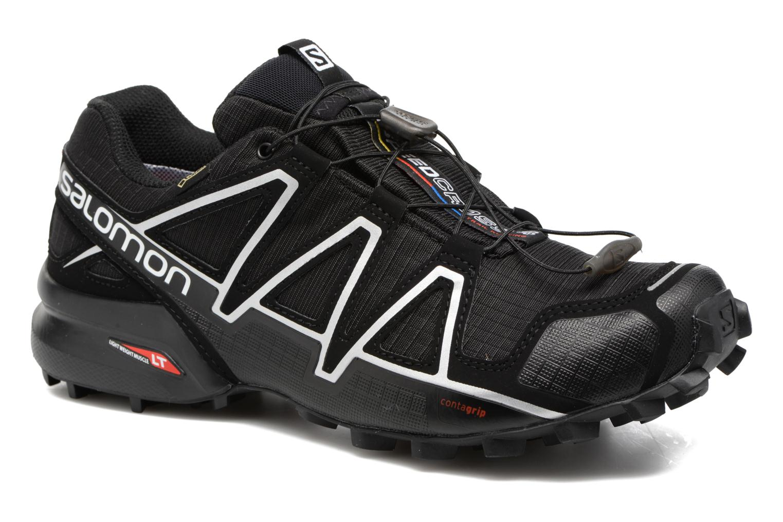 Speedcross 4 Gtx Black/Black/Silvmetal