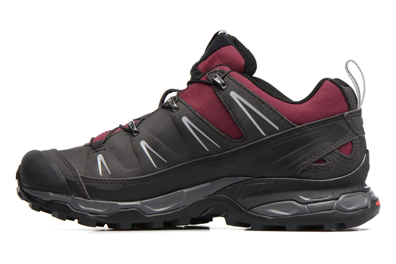 X Ultra Ltr W Bordeaux/Asphalt/Steel Grey