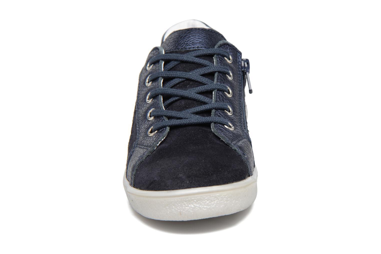 Baskets Minibel Luxep Bleu vue portées chaussures