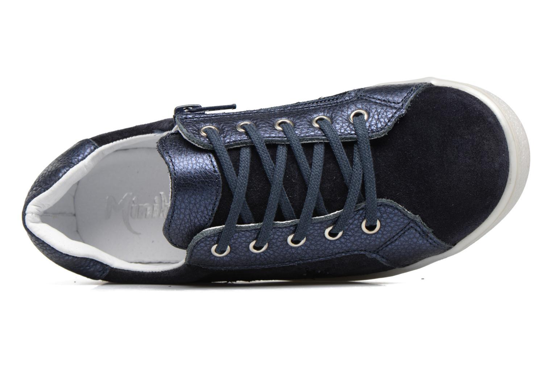 Baskets Minibel Luxep Bleu vue gauche