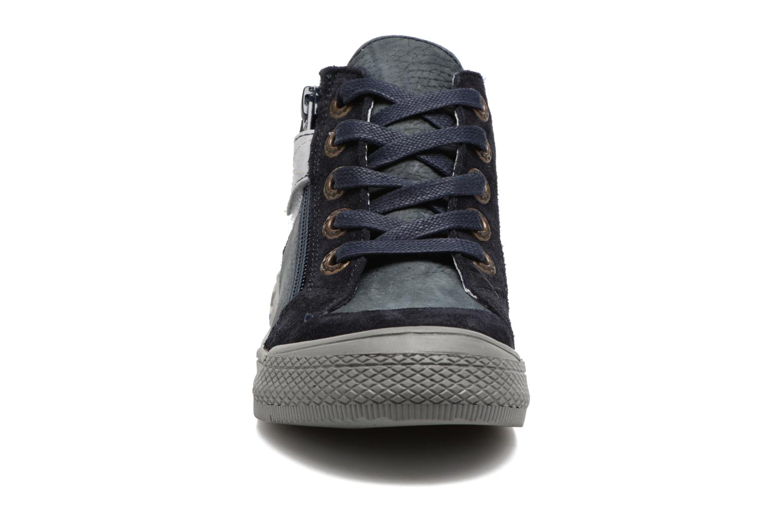 Baskets Minibel Nick Bleu vue portées chaussures