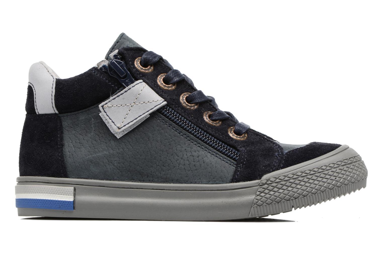 Sneakers Minibel Nick Blauw achterkant